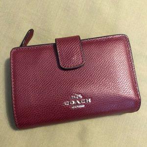 Authentic medium Coach wallet